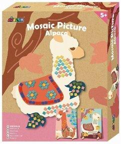 Mosaic Picture Alpaca