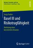Basel III und Risikotragfähigkeit (eBook, PDF)