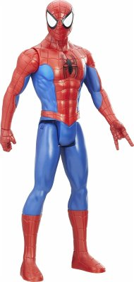 Hasbro E0649EU4 - Spider-Man, Classic Spider-Man Titan Hero Power FX, Actionfigur