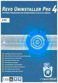 Revo Uninstaller 4 - 3-Platz-Version, 1 DVD-ROM