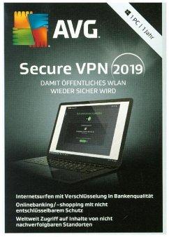 AVG Secure VPN 2019 (1PC/1Jahr)