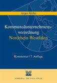 Kommunalunternehmensverordnung Nordrhein-Westfalen