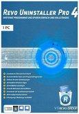 Revo Uninstaller 4 - 1-Platz-Version, 1 DVD-ROM