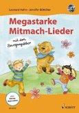 Megastarke Mitmachlieder - mit dem Bewegungsbiber, m. Audio-CD