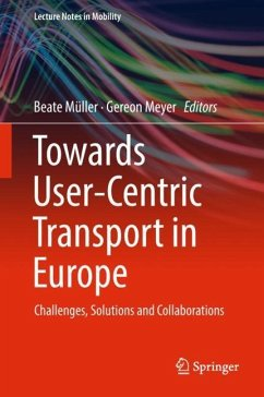 Towards User-Centric Transport in Europe