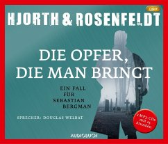 Die Opfer, die man bringt / Sebastian Bergman Bd.6 (3 MP3-CDs) - Hjorth, Michael; Rosenfeldt, Hans