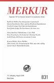 MERKUR Gegründet 1947 als Deutsche Zeitschrift für europäisches Denken - 2018-08 (eBook, ePUB)