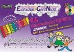 Einfacher!-Geht-Nicht: 18 Kinderlieder für das SONOR® BWG Boomwhackers Glockenspiel, m. 1 Audio-CD