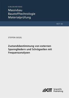 Zustandsbestimmung von externen Spanngliedern und Schrägseilen mit Frequenzanalysen - Siegel, Steffen