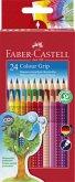 Faber-Castell Buntstifte Colour Grip, 24er Set
