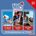 Nils Holgersson (CGI) Hörspielbox, 3 Audio-CDs
