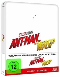 Ant-Man and the Wasp Steelbook (BLU-RAY 3D/2D)