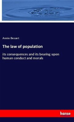 The law of population