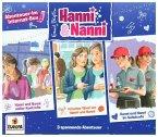 Hanni und Nanni - 3er Box - Abenteuer im Internat, 3 Audio-CD