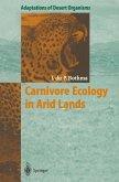 Carnivore Ecology in Arid Lands (eBook, PDF)