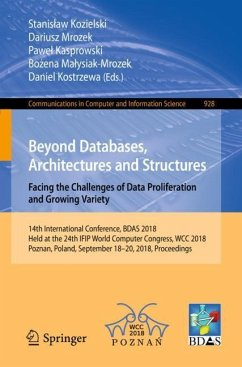 Beyond Databases, Architectures and Structures....