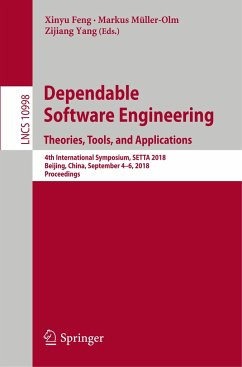 Dependable Software Engineering. Theories, Tool...