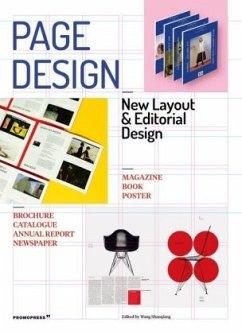 Page Design: Printed Matter and Editorial Design - Shaoqiang, Wang