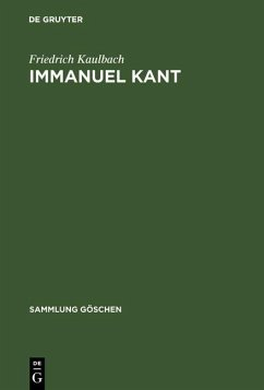 Immanuel Kant (eBook, PDF) - Kaulbach, Friedrich