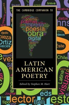 Cambridge Companion to Latin American Poetry