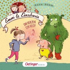 Im Herzen ein Held! / Emmi & Einschwein Bd.2 (MP3-Download) - Böhm, Anna