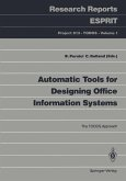 Automatic Tools for Designing Office Information Systems (eBook, PDF)