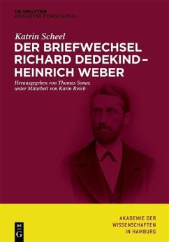 Der Briefwechsel Richard Dedekind - Heinrich Weber (eBook, ePUB) - Scheel, Katrin