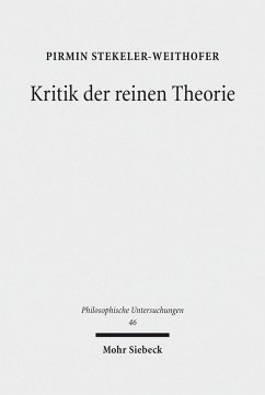 Kritik der reinen Theorie (eBook, PDF) - Stekeler-Weithofer, Pirmin
