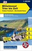 Kümmerly+Frey Outdoorkarte Mittelmosel - Trier bis Zell