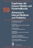 Advances in Internal Medicine and Pediatrics / Ergebnisse der Inneren Medizin und Kinderheilkunde (eBook, PDF)