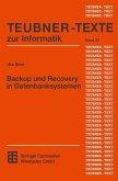 Backup und Recovery in Datenbanksystemen (eBook, PDF)