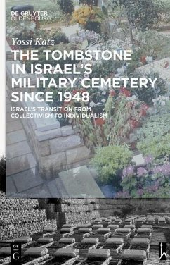 The Tombstone in Israels Military Cemetery since 1948