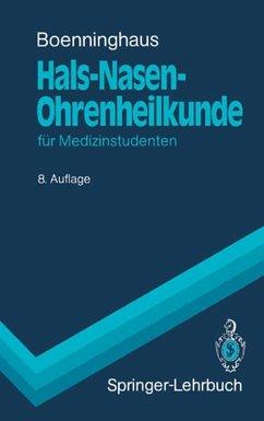 Hals-Nasen-Ohrenheilkunde (eBook, PDF) - Boenninghaus, Hans-Georg