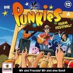 Die Punkies - Farm Festival!, 1 Audio-CD