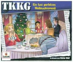 Ein Fall für TKKG - Ein fast perfektes Weihnachtsmenü, 3 Audio-CD
