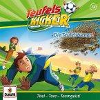 Die Teufels-Bienen! / Teufelskicker Hörspiel Bd.74 (1 Audio-CD)