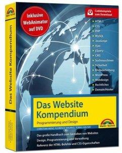 Das Website Handbuch - Programmierung und Design - Wenz, Christian; Hauser, Tobias
