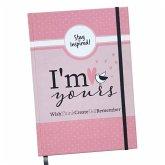 Notizbuch DIN A5 dotted mit Hardcover in Pink mit Lesezeichen und Gummiband. Hochwertiges Bullet Journal Buch A5 2019 gepunktet. Hardcover Notizbuch, Notizheft, Tagebuch in rosa