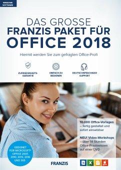 Das Große Franzis Paket Für Office 2018