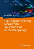 Einmessung und Verifizierung raumakustischer Gegebenheiten und von Beschallungsanlagen (eBook, PDF)