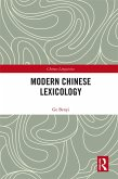 Modern Chinese Lexicology (eBook, PDF)