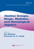 Abelian Groups, Rings, Modules, and Homological Algebra (eBook, PDF)