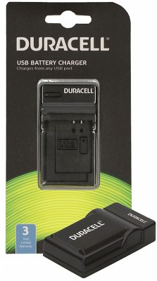 Duracell Ladegerät mit USB Kabel für DRSBX1/NP-BX1