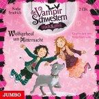 Wolfsgeheul um Mitternacht / Die Vampirschwestern black & pink Bd.4 (2 Audio-CDs)