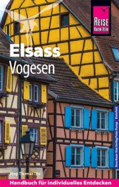 Reise Know-How Reiseführer Elsass und Vogesen - Titz, Barbara; Titz, Jörg-Thomas