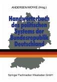 Handwörterbuch des politischen Systems der Bundesrepublik Deutschland (eBook, PDF)