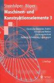 Maschinen- und Konstruktionselemente 3 (eBook, PDF)