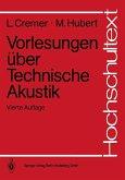 Vorlesungen über Technische Akustik (eBook, PDF)