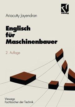 Englisch für Maschinenbauer (eBook, PDF) - Jayendran, Ariacutty