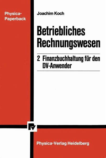 Betriebliches Rechnungswesen Ebook Pdf Von Joachim Koch